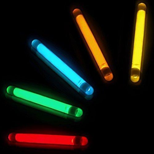 Giftexpress 100 pcs 1 5 inch glow sticks fishing floats for Fishing glow sticks