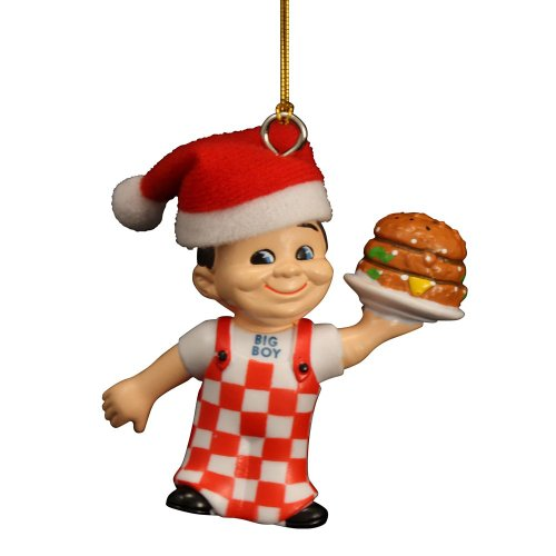 Big Boy 3D Figure Holiday Dangler 3 inch Christmas Ornament