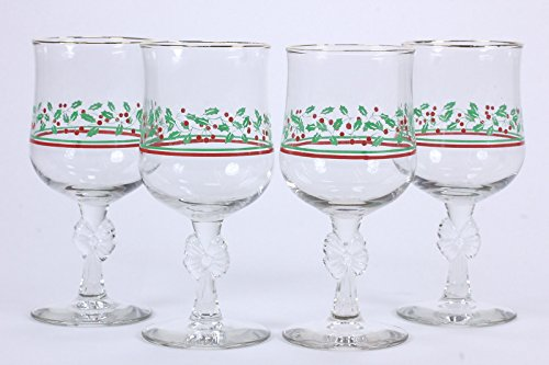arbys-vintage-promotional-holly-berry-water-wine-goblets-set-of-4