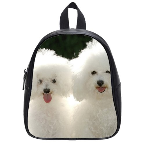 wholesale Puppies poodle Custom Kids School Backpack Bag(Small) decent