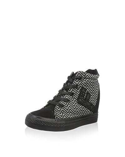 Fiorucci Hightop Sneaker schwarz