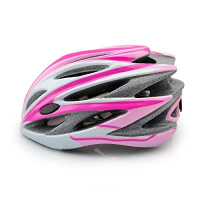 Costmad Adjustable Kids & Adult Bike Bicycle Cycle Safety Helmet Boys & Girls Skating Scooter Protection 45-64cm,pink by WIN-WIN