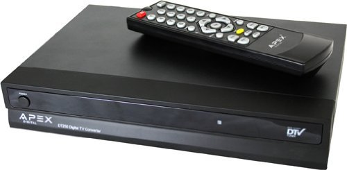 Review Apex DT250A Digital Converter Box with Analog Passthrough