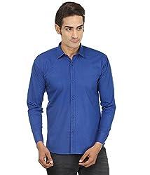 FOCIL Blue Casual wear shirt