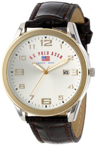 U.S. Polo Assn. Classic Men'S Us5150  Brown Croco Strap Analog Watch