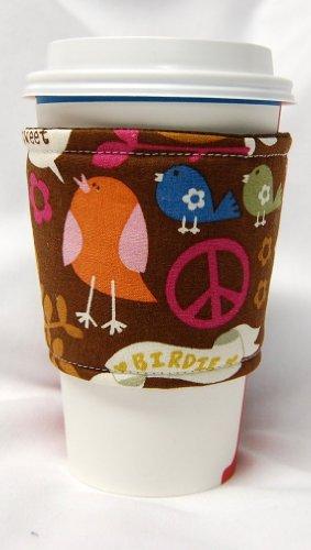 カップスリーブ コーヒースリーブ Coffee Cozy Cup Sleeve バードピース