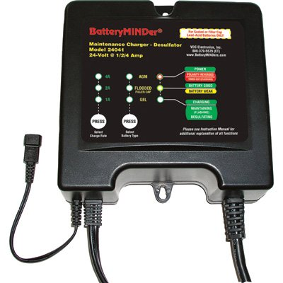 Batteryminder Battery Charger Maintainer Conditioner 24