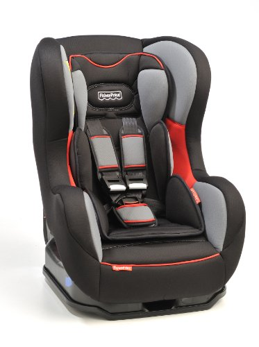Fisher Price Safe Voyage Convertible Car Seat in Moonlight (Black/Grey/Red, 0 to 4 Years)