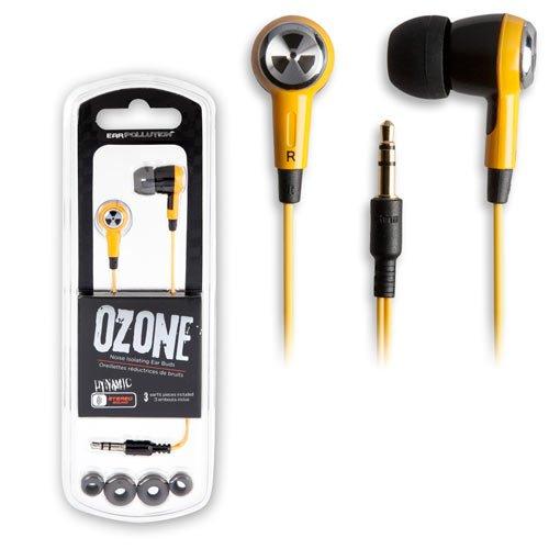 Earpollution Earbud Headphones Ozone Yellow/Black By Ifrogz
