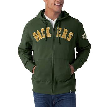 NFL Green Bay Packers Mens Striker Full Zip Jacket by
