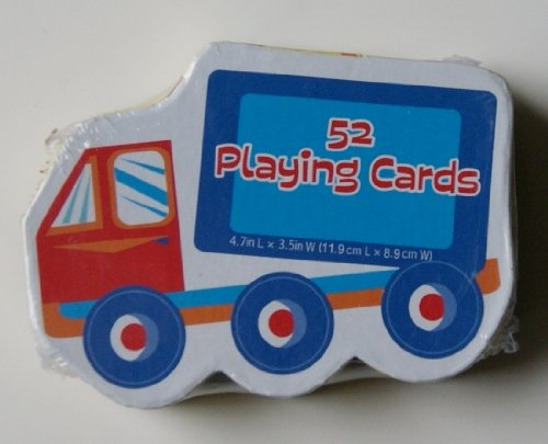 Truck Shaped Deck of Playing Cards