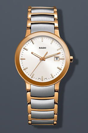 Rado Centrix Rose Gold-tone Ladies Watch R30555103