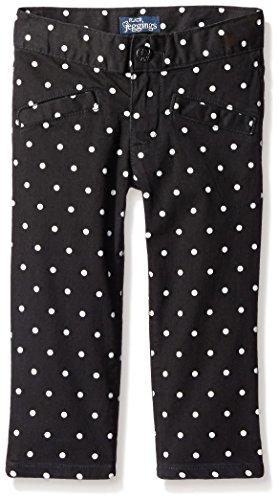 The Children's Place Big Girls' Dot Pant, Black, 14