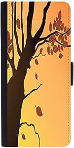 Snoogg Floral Illustration Designer Protective Flip Case Cover For Samsung Ga...