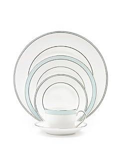 Amazon.com   Vera Wang Blue Duchesse Rim Soup Plate: Dinner Plates: Dinner Plates