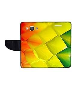 KolorEdge Printed Flip Cover For Samsung Galaxy A5 Multicolor -(50KeMLogo12423SamA5)