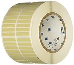 Brady THT-4-724-10 Thermal Transfer Printer Label, Amber