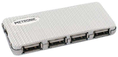 METRONIC - HUB USB 2.0 AVEC ALIMENTATION - 4 PORTS
