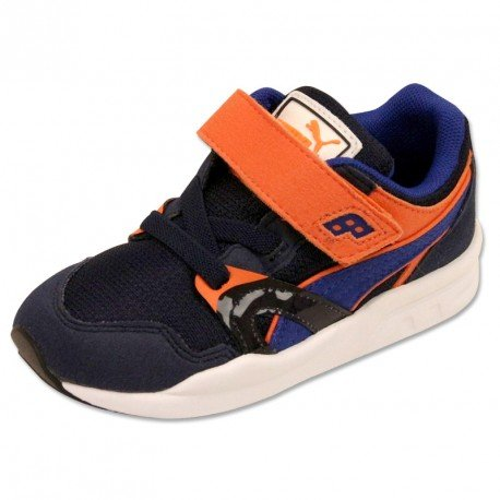 Puma Trinomic Plus V Trainers - Blue/Orange