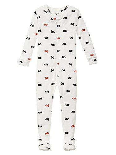 Gap Baby Cat Mask Footed Sleep One Piece Size 5 Yrs front-921683