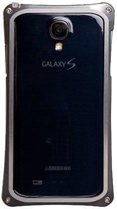 アビー Galaxy S4対応 アルミジャケット 【化研アルマイト処理仕上げ バンパータイプ】 シルバー MA-GX01-SK