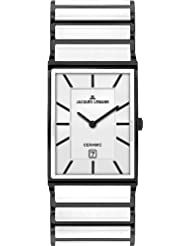 Jacques Lemans Men's 1-1593C York Classic Analog with HighTech Ceramic and Sapphire Glass Coating Watch