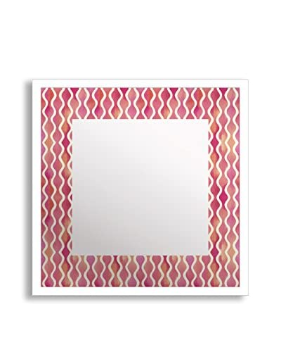 Gallery Direct Watercolor I Print on Mirror, Multi, 16