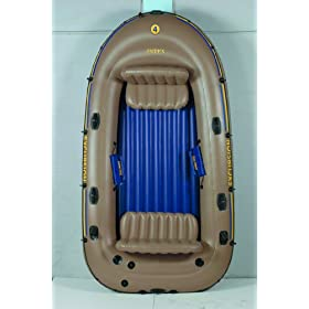 Intex Excursion 4 Boat Set by Intex