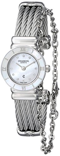 Charriol St-Tropez Women's 21mm Sapphire Glass Quartz Watch ST20S.520.RO004