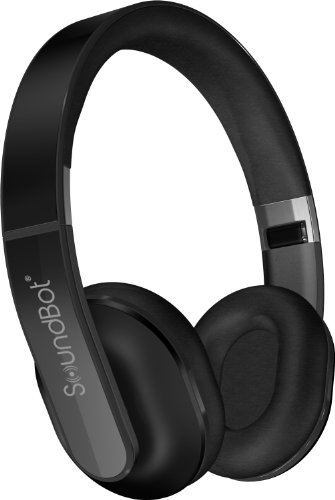 Soundbot® Sb235 Hd Bluetooth 4.0 Stereo Headset W/ Noise And Echo Reduction, 14 Hours Of Playback Time And 480 Hours Of Standby Time, Built-In Mic, Dsp6.0, Comfort Fit Padding, A2Dp, And Acrvp (Ac Wall Charger Not Included)