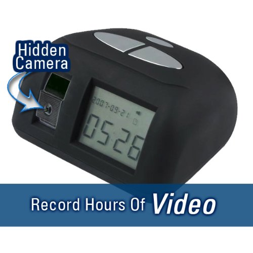 iShot Hidden Video Camera Alarm Clock (DVR) by Brickhouse Security