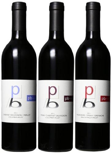 Rasa Vineyards Pb Wines Red Blends Mixed Pack, 3 X 750 Ml