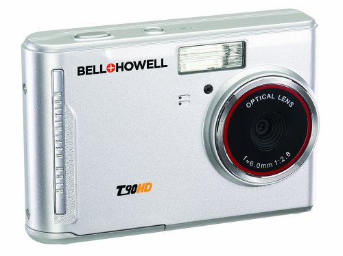 Bell and Howell T90HD-S 12 MP Digital Camera with 2.7-Inch LCD Touchscreen and HD Video (Silver)