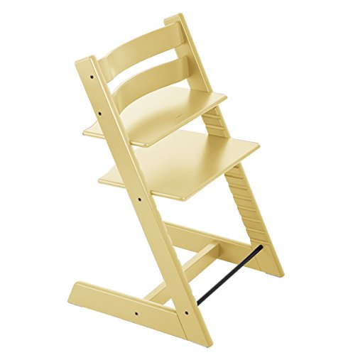 Stokke Tripp Trapp Highchair, Wheat Yellow, One Size - 1