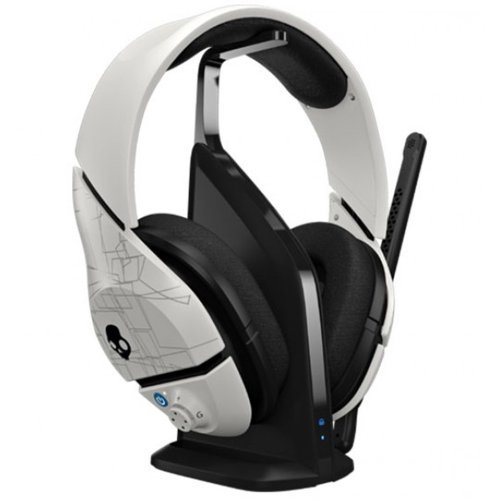Skullcandy Plyr1 7.1 Surround Sound Wireless Gaming Headset, White (Smpyfy-072) Color: White
