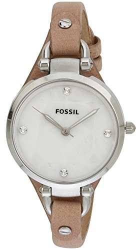 Fossil Fossil Georgia Analog Silver Dial Women's Watch - ES3150