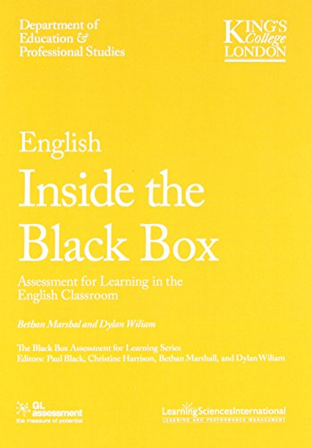 English Inside the Black Box: Assessment for Learning in the English Classroom (Black Box Testing compare prices)