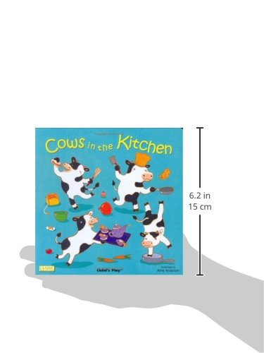 Cows in the Kitchen (Classic Books with Holes Board Book)