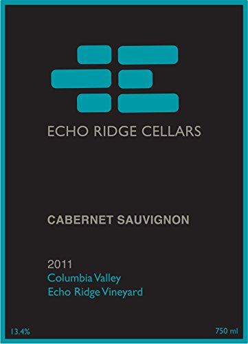 2011 Echo Ridge Cellars Columbia Valley Estate Cabernet Sauvignon 750 Ml