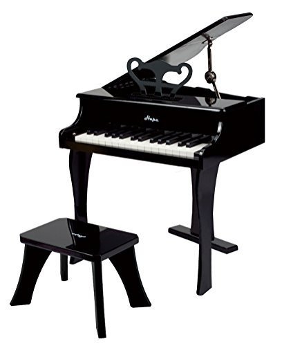 Hape - Piano de cola feliz, color negro (0HPE0320)