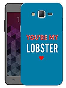 """Humor Gang You'Re My Lobster Minimal - Ross - Friends Printed Designer Mobile Back Cover For """"Samsung Galaxy On5"""" (3D, Matte, Premium Quality Snap On Case)"""
