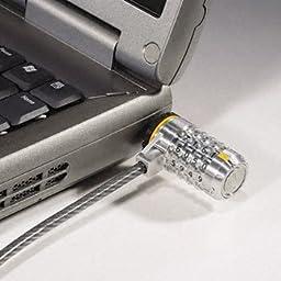 Kensington® ComboSaverTM Notebook Lock LOCK,COMBINATN NTBK,SR 79132 (Pack of2)