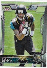 Rashad Greene 2015 Topps Chrome Jacksonville Jaguars Rookie Card #147