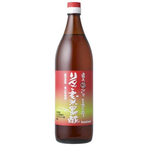 岩谷 りんご玄米黒酢 900ml