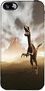 Snoogg Dinosaur Designer Case Cover For Apple Iphone 5C / 5C