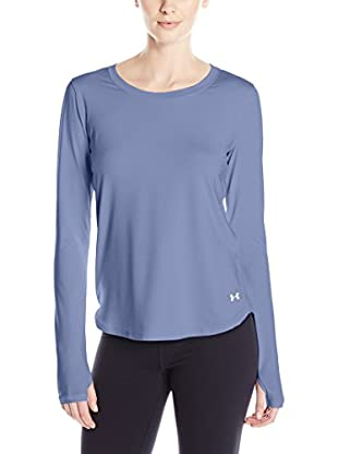 Under Armour Camiseta Manga Larga Técnica Fly By Long Sleeve (Violeta)