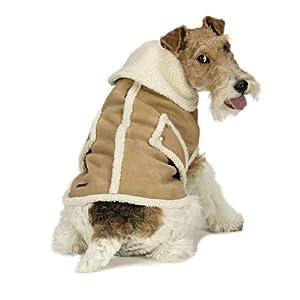 Fashion Pet Suede Shearling Coat