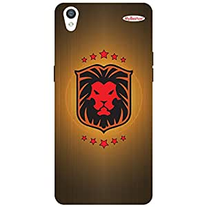 Red Lion Lobo - Mobile Back Case Cover For Oppo F1 Plus