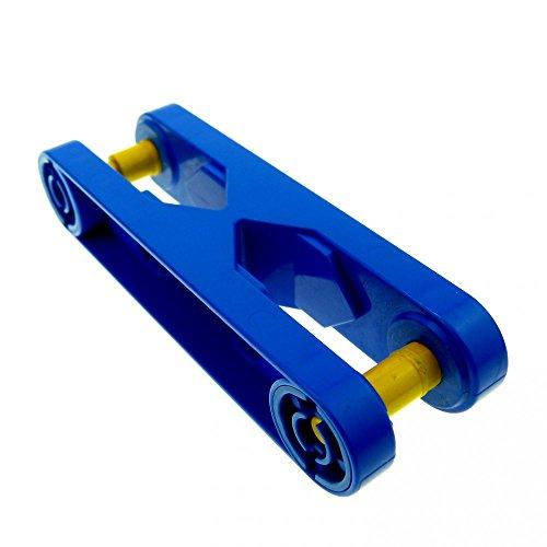 2 x Stein Arm Baustein Verbindung blau 6279 Lego