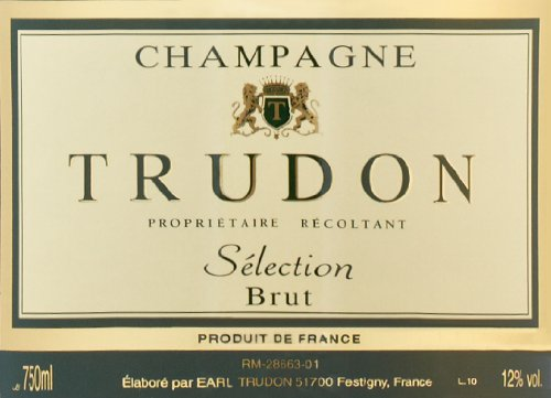 Trudon NV  Brut Selection, Champagne 750 mL
